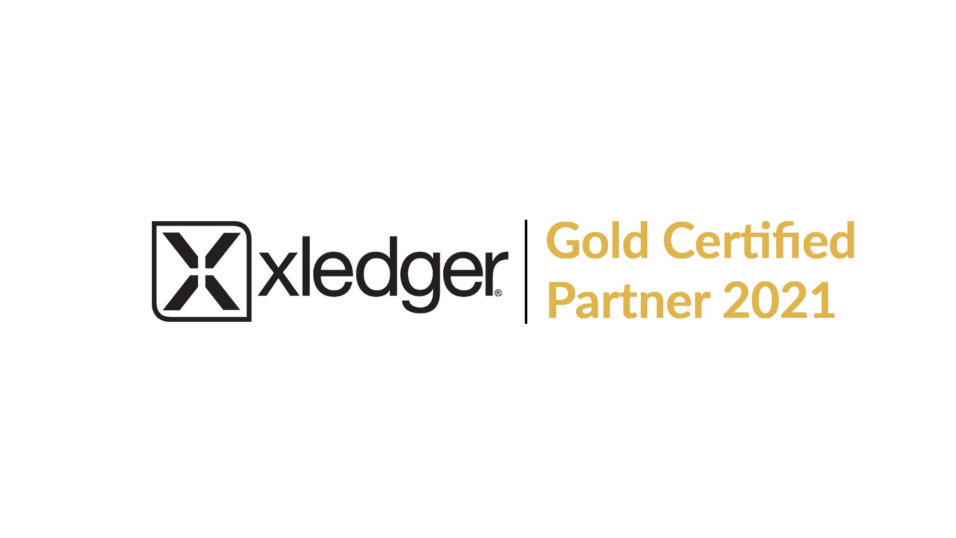 Xledger Gold partner 2021 V6